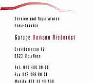 Garage Romano Niederöst